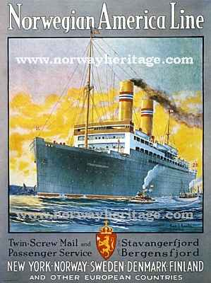 Stavangerfjord poster; image credit to http://www.norwayheritage.com